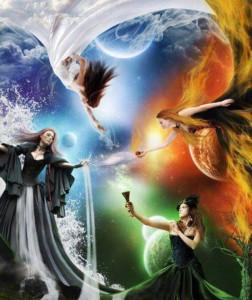 four-element-goddess
